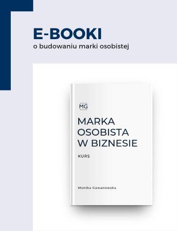 Ebooki o budowaniu marki osobistej